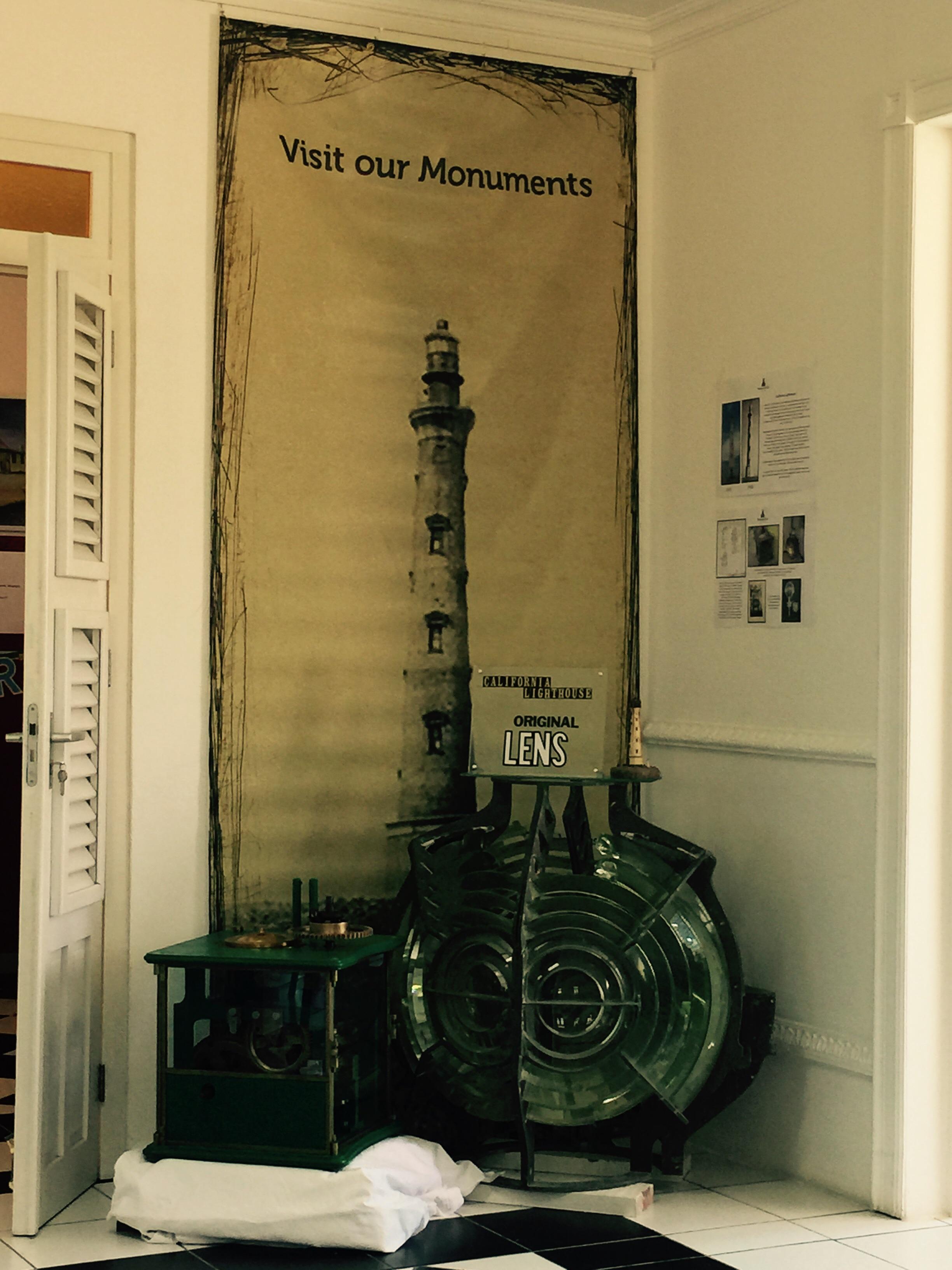 Original Lens California Lighthouse