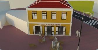 Restauration Project Nicolaas Store - San Nicolas Aruba