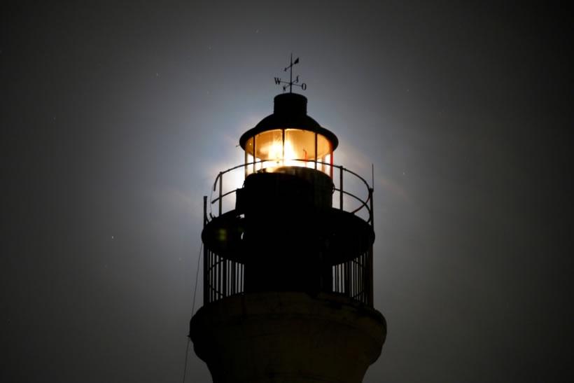 California Lighthouse at night
