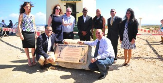Transferring of the California Lighthouse to the Monumentsfund Aruba