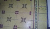 Indoor floor tiles at La Casa Rosada