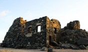 Bushiribana Gold Mine at sunset