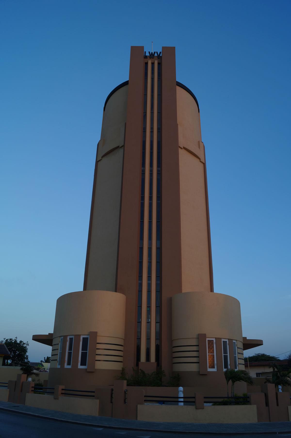 Water Tower San Nicolas standing tall