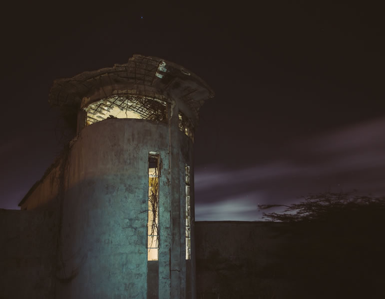 Water Tank Kibaima by nightfall