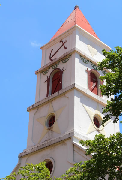 Tower of the Protestant Church Oranjestad